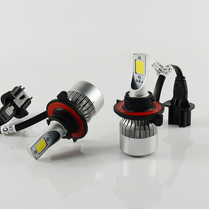 Wholesale C6 36W H1 HB4 Car LED Bulb H7 9005 COB LED Headlight H4 with Canbus