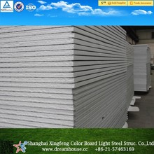 High quality sandwich panel price/EPS Wall and Roof Sandwich Panels/ prefabricated rock wall panels