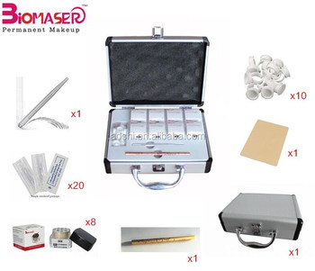 Hot Selling Eyebrow Microblading Tools Kit For Permanent Makeup
