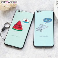 citycase make your own printing!custom soft printing silicone case for iphone,for iphone 6 TPU priting case