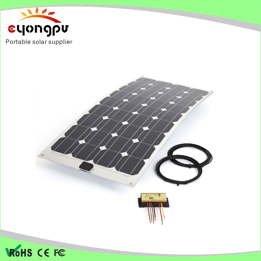 100W Watt Solar Panel Mono Cell 12 Volt 12V for RV Boat Battery Charger