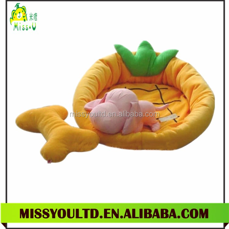 China Factory Pet Products Lovely Plush Dog Bed