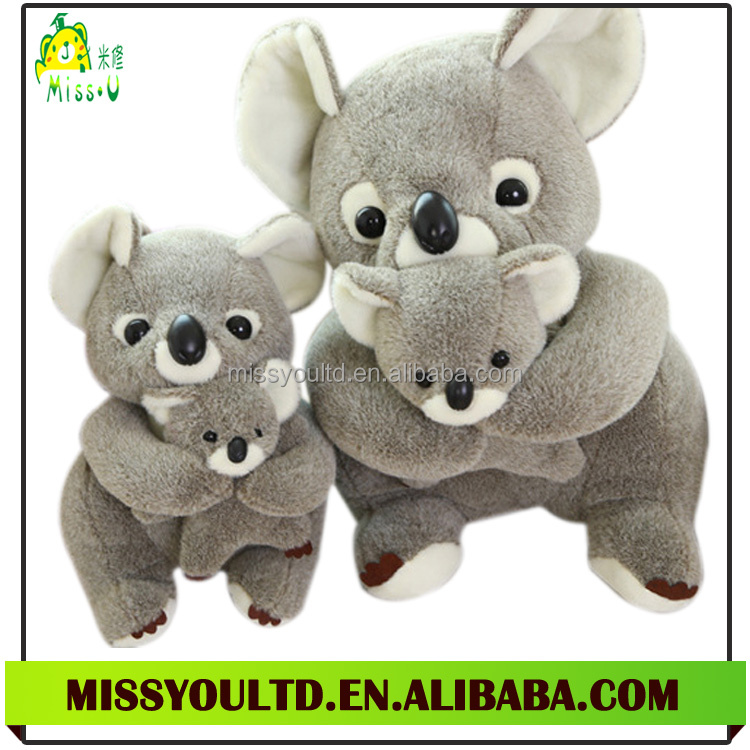 Wholesale Lovely Plush Material Stuffed Koala Bear Plush Toy