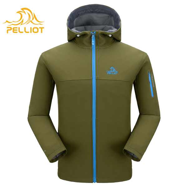 High Quality OEM Custom Mens Outdoor Sports Jacket 100 Polyester Soft Shell Jacket