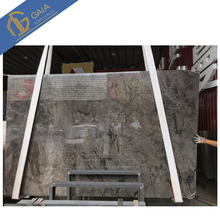 Table top Light grey natural marble slab wholesale price