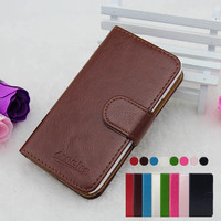 Wholesale High Quality Stand Wallet Flip Leather Case For Samsung Galaxy S4 mini I9190