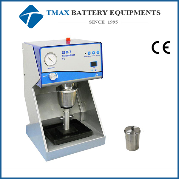 lab mixer machine for battery film with vibration stage & two containers (150 & 500ml) - MSK-SFM-7