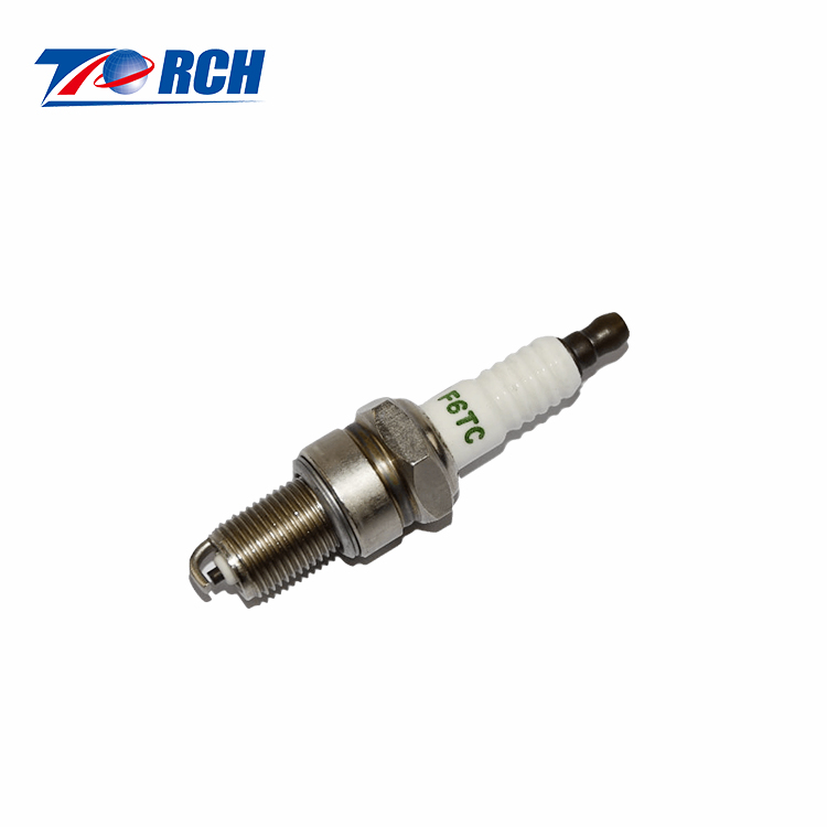 Motorcycle engine spare parts F6TC / N10YC racing motorcycle genuine <strong>spark</strong> <strong>plug</strong>