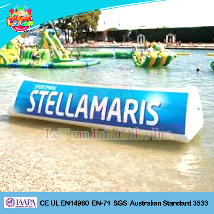 Small inflatable floating billboard outdoorfor advertising