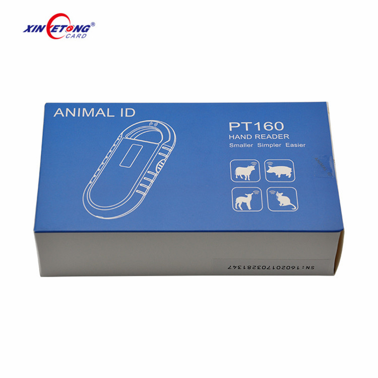 Portable ISO 11784/5 FDX-B USD Animal Tag Chip Reader/Scanner For Animal Identification