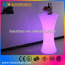 bar furniture rechargeable battery led table Min. Order: 10 Pieces