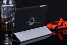 PU Leather Stand Case with Auto Sleep Wake Function, leather case for ipad 2 3 4 5 6 for ipad mini