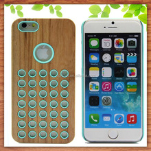 wholesale hard wood mobile phone case for iphone 6s 6s plus ,for iphone 6s mobile wood case