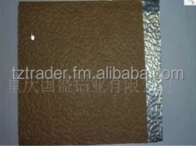 Aluminium Stucco Embossed Coil with Kraft Paper