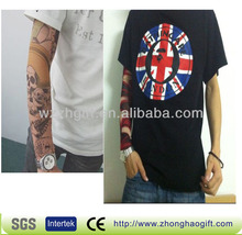 Custom hot Fake tattoo arm sleeve