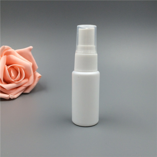 high quality plastic PE 120ml mist spray bottle packaging can printing/make color
