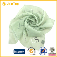 Unique Design Digital silk scarf printing JOINTOP supplier alibaba blank polyester scarf