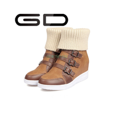 GD Fashion 2015 desert boots military boots for strong will-power women with good quality