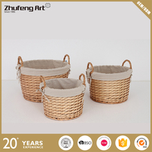 Factory Wholesale Wicker Picnic Basket with 100% Nature Willow