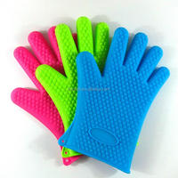 400set silicone bbq gloves, mat and brush sample cost including shipping(70% balance)