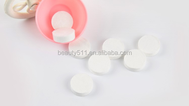 OEM 8pcs Disposable Compressed mask with a small bowl Mask paper DIY