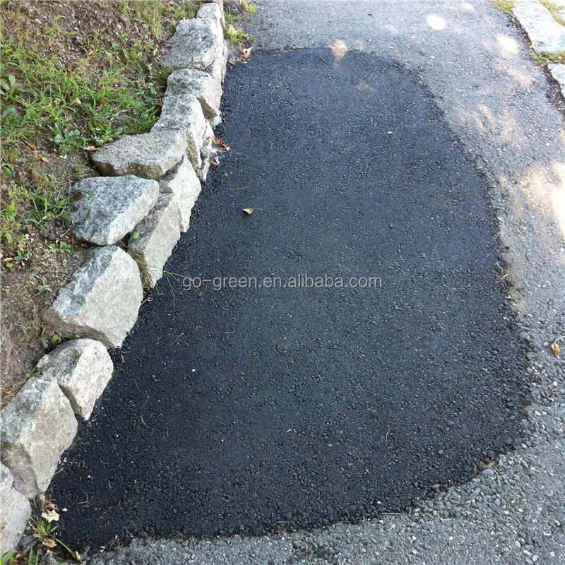 Go Green cheap cold asphalt in bags for instantly pothole repair