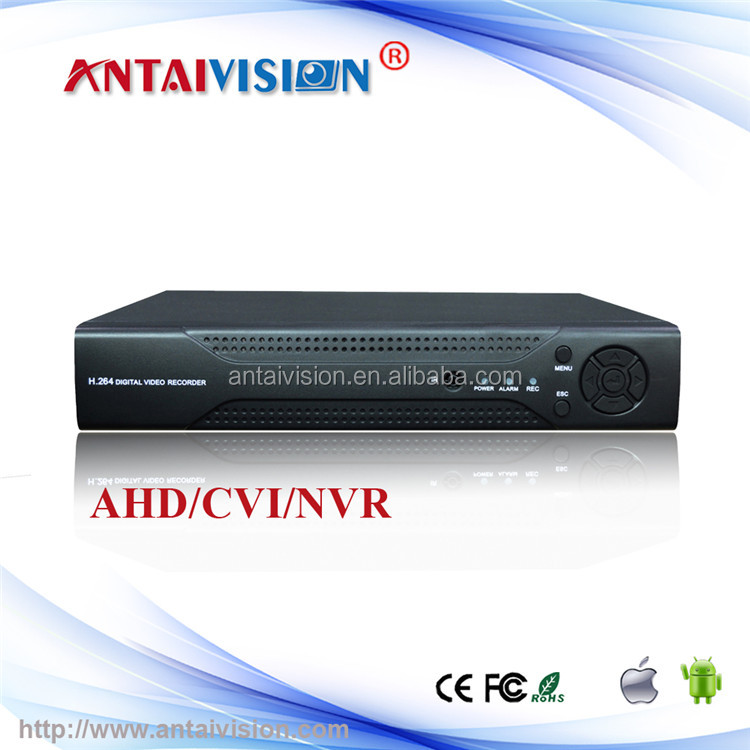 4ch 960H IP Hybrid DVR 16ch Audio Real-time Recording AHD Video Recorder
