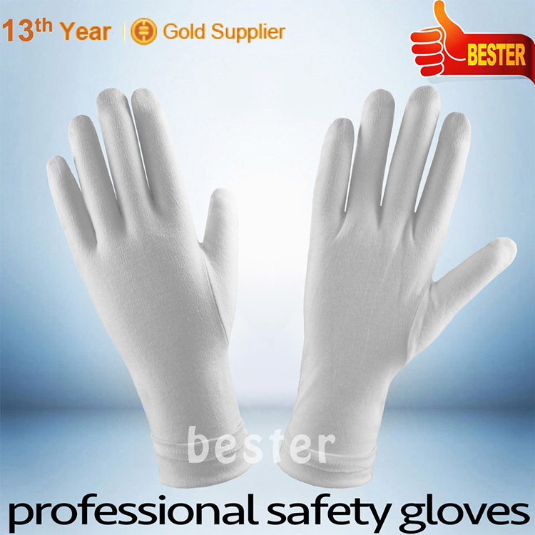 100% COTTON Factory manufacturer in china cottons parade gloves masonic