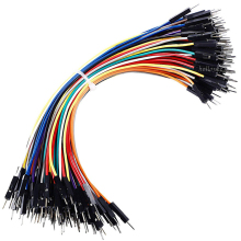 Customized Premium 15cm Pack of 10 Male Male Breadboard Jumper Cable Wires For Arduino Robotics