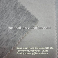 cotton/polyester brushed jersey knitted fabric for sportswear & casual coat fabric