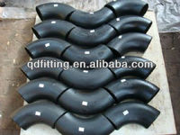 butt welded carbon steel pipe fittings SCH80 elbows