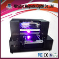 Cheapest small A4 plastic uv led printer for sale