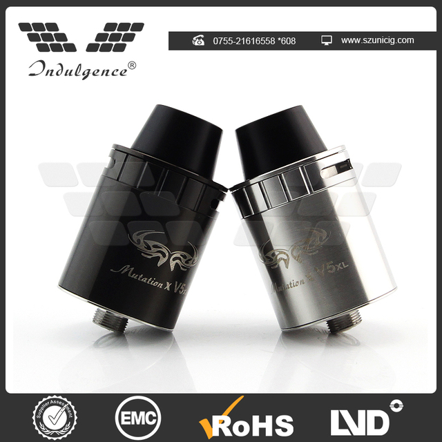 Hot selling not easily deformed mutation X V5 XL RDA atomizer made in China