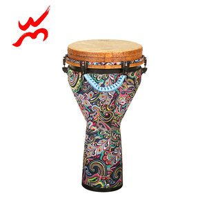 Different size easy-carry colorful djembe