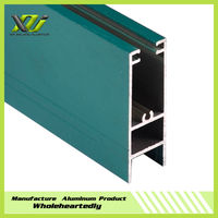 High quality powder coating aluminium profile for window and door