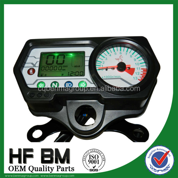 Motorcycle LCD panel motorcycle digital meter for CG125