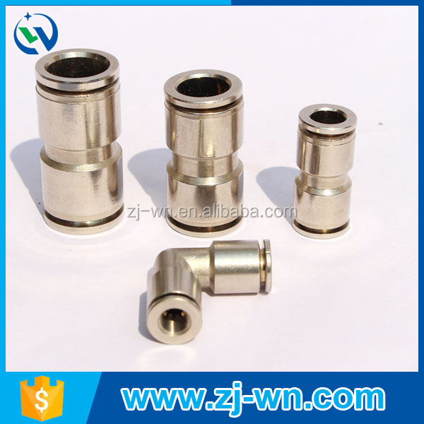WN-5009A Wholesale brass quick couplings, copper fast connection in pipe fittings