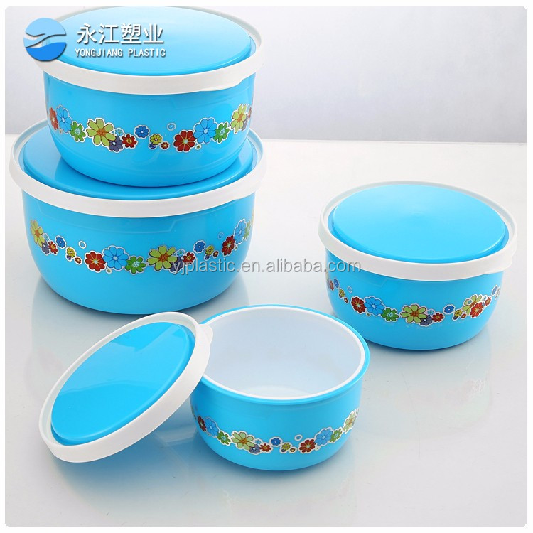 wholesale rectangular food crisper box hot sell food container box plastic preservation box