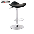 2018 New Design Quality-Assured Hard Leather Footrest Adjustable Bar Chair