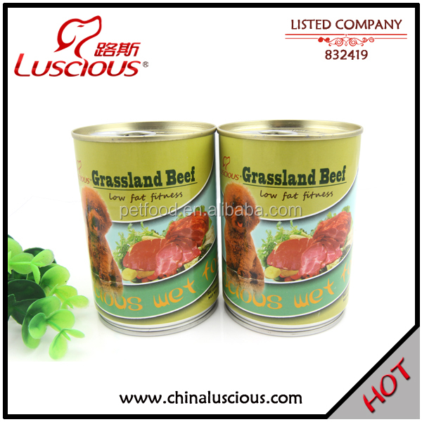 375g Grassland Beef Best Canned Dog Food for Older Dogs