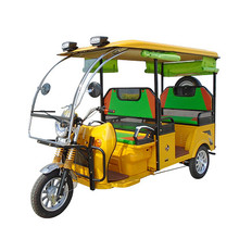 Newest luxury closed electric tricycle for passenger taxi auto e rickshaw price in india