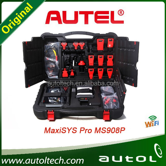 100% Original Autel MaxiSys Pro MS908P Car Diagnosis with J2534 for American Cars