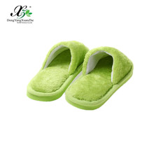 New Design Men Women Couple Warm Indoor Soft Plush Home Slippers