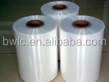 PE / PET / <strong>PVC</strong> /POF / OPS heat shrinkable plastic film for packing