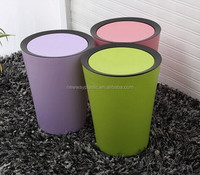 9L colorful new design plastic household Waste Bin