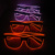 Latest wireless popular cool party glasses led light up flashing led sunglasses
