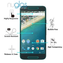 fast deslivery !nuglas tempered glass screen protector for gr3 mobile phone /screen protector for blu-life-play