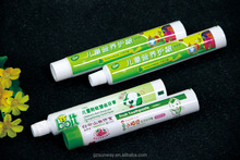Small Child Aluminum Plastic Laminated Toothpaste Packaging Tubes Supplier