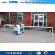 PVC door and window machine SJV-65 mullion cutting saw machine make two 45 degree one profile same end
