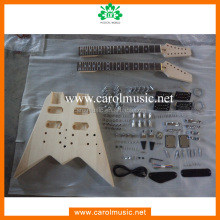 GK069 Cheap Double Neck Electric Guitar Kits